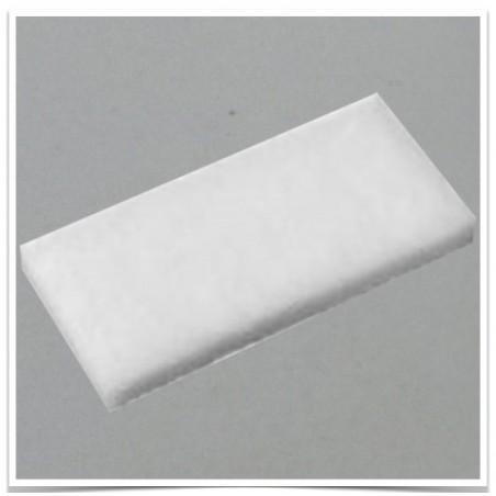 Pad Blanc rectangulaire